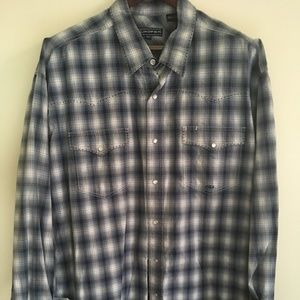 Western Pearl-snap long-sleeve shirt - XXLT